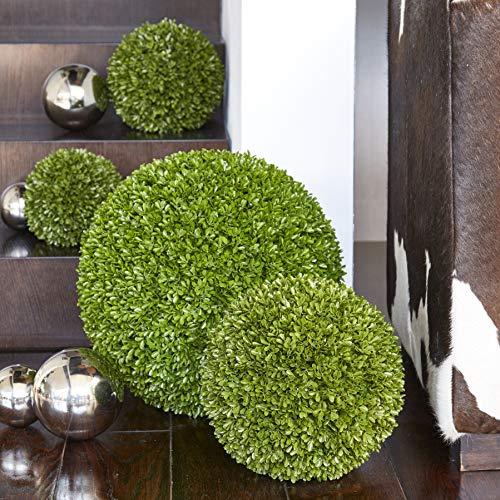 Klocke Kunstpflanzen Hochwertige & Künstliche Buchsbaumkugel - XS Buchskugel: Ø 15cm - Naturgetreu & Wetterfest - Dichtes Blattwerk & Natürliche Farben - Premium (Indoor & Outdoor)