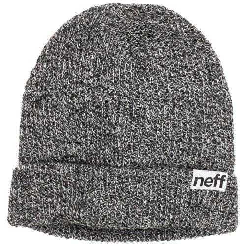 Neff Fold – Mütze, Schwarz/Grau, meliert Einheitsgröße schwarz - schwarz /...