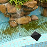 Generic New Eco-friendly Design 180L/H Solar Power Fountain Water Pump Panel Kit Pool