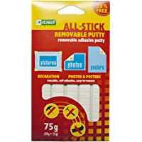 D.RECT Pastiglie Adesive | Bianco, 80 pezzi | riposizionabili, pasta da fissare, pastiglie pre-tagliate super forti