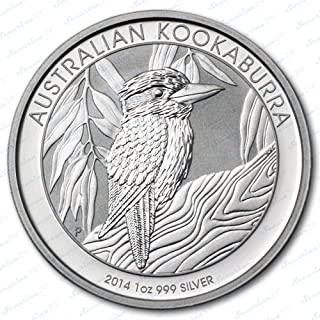 Australian Australien Kookaburra 2014 1 Oz Unze Silber Silver Silbermünze Anlagemünze + Zertifikat von der Marke Securina24