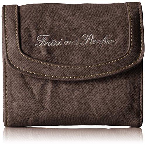 Fritzi aus Preussen Damen Vicky Geldbörse, Braun (Brown1), 3x10.5x11 cm