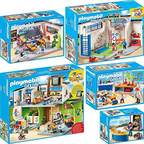 Playmobil City Life Set en 5 Parties 9453 9454 9455 9456 9457 Grande...