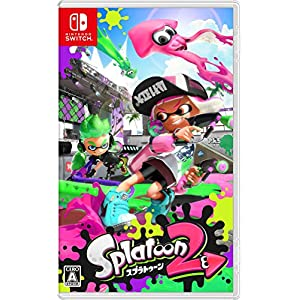 Splatoon 2 – Standard Edition [Switch][Japanische Importspiele]