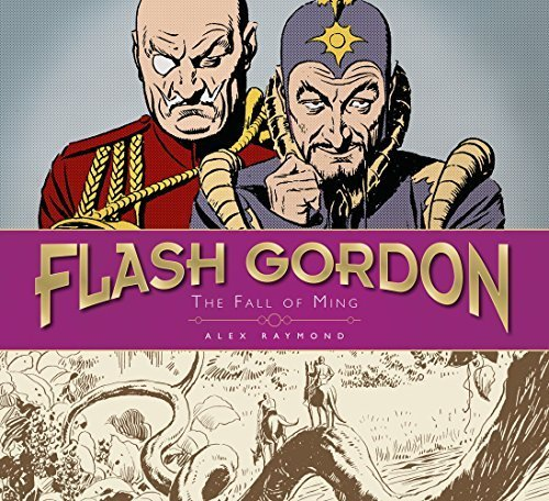 Portada del libro The Fall of Ming (The Complete Flash Gordon Library) by Alex Raymond (2013-06-11)