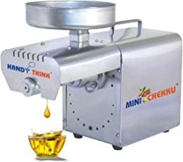 Handy Think 400W Mini Cheeku Fully Automatic Stainless Steel Oil Extractor Machine - Input Capacity 3 to 5Kg