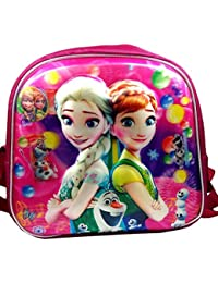 Evisha Cartoon Character 3D Effect Kids Bag For School/picnic/outing/swimming/travelling