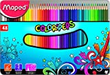 #8: Maped Color'Peps Color Pencil Set - Pack of 48