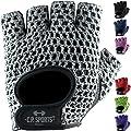 Fitness Handschuh Klassik in vielen Farben, Fitnesshandschuhe, Trainingshandschuhe, Bodybulding Handschuhe für Fitness Training C.P. Sports F3 von C.P.Sports