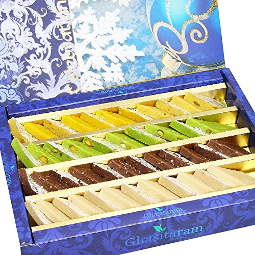 Diwali Gifts Sweets- Pure Assorted Kaju Katlis