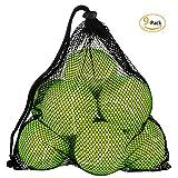 omorc pelotas de tenis sin presión 9pelotas con bolsa de transporte
