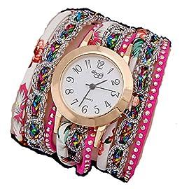 Mixe Korean Wrist Watch Quartz Diamond Bracelet Ladies Women's Charm Leather Strap Jewelry Fashion Bangle ME257