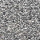 Steinteppich Marmorkies Bodenbeschichtung Steinboden W730 Bardiglio Licht - 2qm