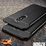 """Amozo """"360 Degree"""" Protection Sleek Rubberised Matte Hard Back Case Cover For Redmi Note 5 (Black1)"""