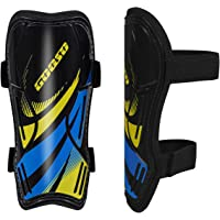 Football Shin Guards, Ankle Protection Breathable Shin Guards for for Kids and Teens, Non Slip Adjustable Straps