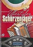 12 Original-Hits der Zillertaler Schürzenjäger (+CD): für steirische Harmonika in Griffschrift