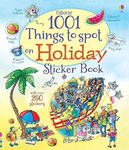 1001 Things to Spot on Holiday Sticker Book por Gillian Doherty