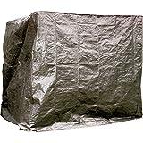 Hollywoodschaukel Schutzhülle 200x120x180cm grau PE Abdeckung Gartenschaukel