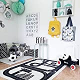 ARTSTORE Children's Floor Play Game Mat,Non Toxic Anti-Slip Cotton Early Education Baby Crawling Carpet for Kids Room