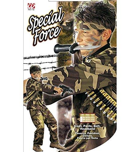 Imagen de iden  disfraz de soldado del ejército militar para niño, talla 8  10 años s/38407  alternativa