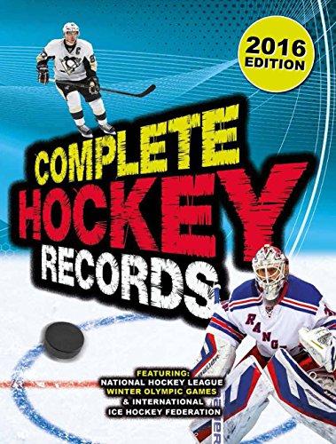 Complete Hockey Records: 2016 Edition por Dan Diamond