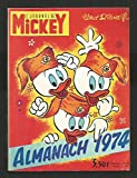 Almanach le journal de Mickey - 1974