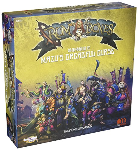 Cool Mini Or Not CMNRB002 - Rum and Bones - Mazu's Dreadful Curse Brettspiel