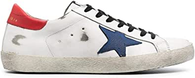 Golden Goose Luxury Fashion Uomo GMF00101F00034810281 Bianco Pelle Sneakers | Ss21