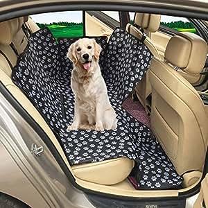 Coprisedile Auto per Cani MATCC Accessori Cane Auto Coprisedile Impermeabile Copertura per Animali Domestico Cane Sedile Posteriore Universale
