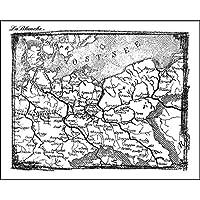 "LaBlanche Silicone Stamp 4 """"-Berlin mappa"