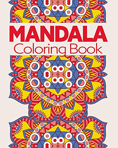 Mandala Coloring Book: For Stress Relief and Relaxtion (Disney Poster Art)