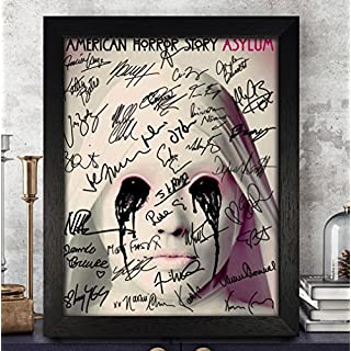 American Horror Story Signed Autographed Photo 8x10 Reprint RP PP - Evan Peters, Sarah Paulson, Emma Roberts, Taissa Farmiga & Others