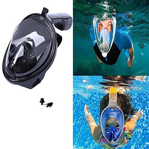 Aliyao Máscara de buceo,180 ° tecnología...