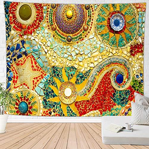 Lxj Gedruckte Tapisserie Indien böhmischen Mandala Hintergrund Tuch Wand Decke Badetuch hänge