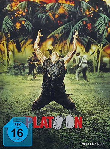 Platoon (Mediabook inkl. 20 Seitiges Booklet) (Limited Edition) (Blu-ray)