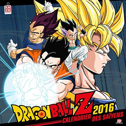 Dragon Ball Z : Calendrier des Saïyens 2016 por Kazé