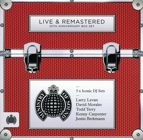 Live & Remastered Ministry Of Sound 20th Anniversary Box Set