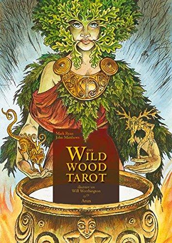 Das Wildwood-Tarot: wo weisheit wurzelt. Set aus 78 Tarotkarten und Buch in Klappschachtel