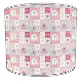 Premier Lampshades soffitto Childrens Patchwork paralumi 12, 30,5 cm