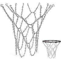 YGHH Rete da Basket per Esterno, Rete da Basket Durevole, Rete da Basket, Standard Resistente Rete da Basket in Metallo…