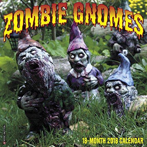 Zombie Gnomes Wall Calendar 2018 par Willow Creek