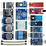 KOOKYE Smart-home Sensor Kit 16 en 1 Módulos para Arduino / Raspberry Pi