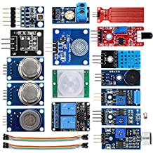 KOOKYE Smart Home Sensor Kit 16 in 1 Modul für Arduino / Raspberry Pi