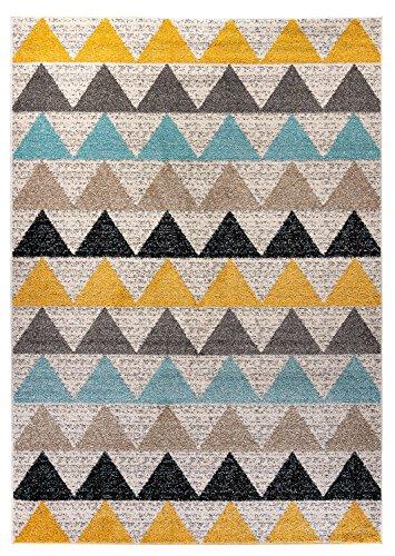-Moderna alfombra Desert New Triángulo Multicolor