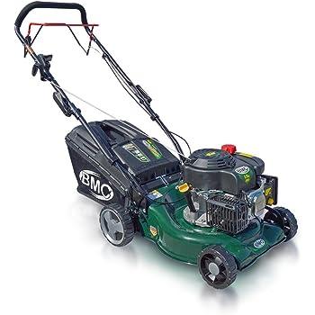 "BMC Lawn Racer 17"" Self Propelled Wolf 3.75HP 4 Stroke Engine Rotary Petrol Lawn Mower with Mulching Facility - 2 YEAR WARRANTY"