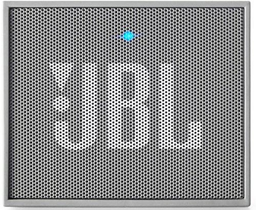 JBL Go Ultra Wireless Bluetooth Lautsprecher (3,5 mm Aux-Eingang, Geeignet für Apple iOS und Android Smartphones, Tablets und MP3 Geräten) Grau
