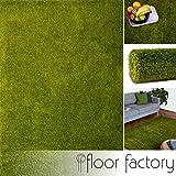 Alfombra moderna Colors verde 160x230cm - alfombra shaggy al precio súper económico
