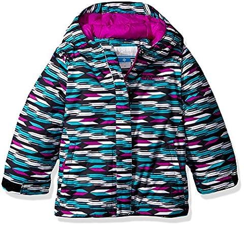 Columbia Little Girls' Toddler Horizon Ride Jacket, Black Arrows, 4T