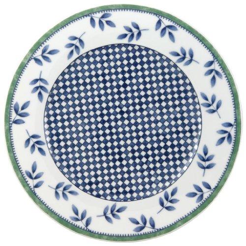 Villeroy & Boch Switch 3 Frühstücksteller Castell / Hochwertiger Porzellanteller in Weiß / Ergänzung zu Geschirrsets der Switch Serie / 1 x Teller ( Ø 21cm)