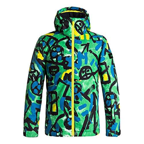 Quiksilver Kinder Snowboard Jacke Mission Printed Jacket Boys